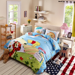 迪士尼 13372全棉活性印花窄幅套件床单款PH-2207