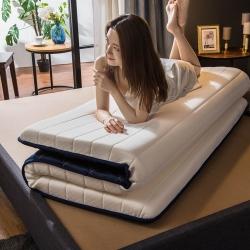 优眠坊 2019针织乳胶立体床垫 白色-单边