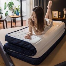 优眠坊 2019针织乳胶立体床垫 白色-立体