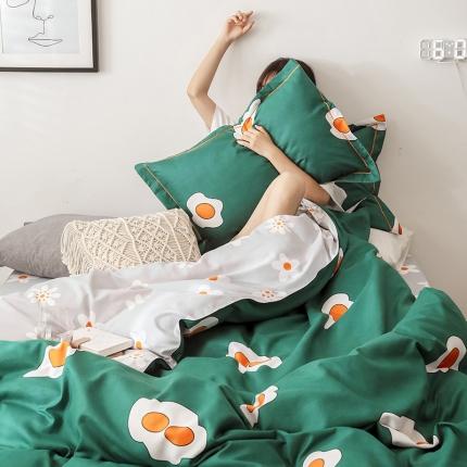 (总)美赞诚 2019磨毛印花卡通四件套臻棉床单款