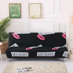 绒世家 2019新款折叠沙发床套 纯心