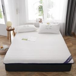 伊先生家纺 2019新款乳胶床垫 单边白色(厚度6.5cm)