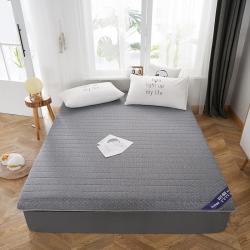 伊先生家纺 2019新款乳胶床垫 单边灰色(厚度6.5cm)