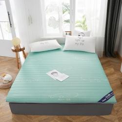 伊先生家纺 2019新款乳胶床垫 单边绿色(厚度6.5cm)