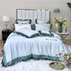 (總)美顏 蒂安娜80支天絲四件套床裙款