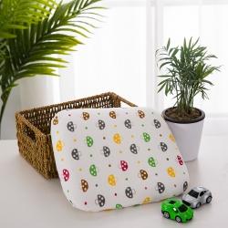 微枕芯 2018新款婴儿防偏头定型枕30*25*2.5 蘑菇