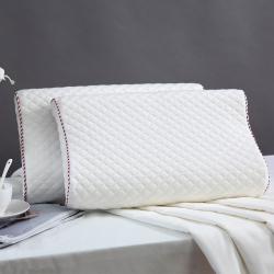 微枕芯 高端亲水棉儿童枕 高低曲线学生记忆枕 单人枕头