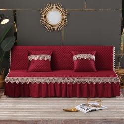 (总)丽朝国际 意大利绒秋冬沙发床罩夹棉沙发巾沙发套垫
