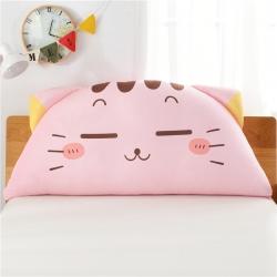 永光家居 床头靠垫卡通猫咪靠垫大靠背床头软包抱枕 卖萌猫