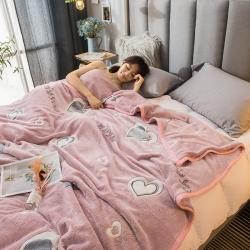(總)慕尚 2019新款雪花絨法萊絨120d不掉毛毛毯