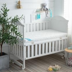 御嬰坊2019新款嬰幼兒3E椰棕床墊 牛奶針織