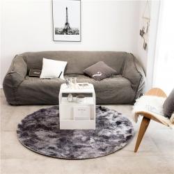 (总)仁慧家纺 2019新款扎染地垫圆形地垫地毯茶几垫