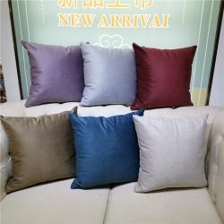 (总)建宇靠垫 2019新款科技绒纯色靠垫抱枕靠枕厂家直供