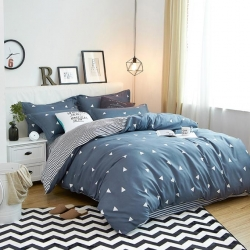 (总)莱仕家纺 柔软舒适芦荟棉四件套床单款