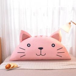 (总)梦雨轩 2019水晶绒数码印花床靠枕床靠背靠垫枕芯卡通