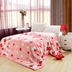 法萊妮  2019新款法萊妮毛毯 浪漫櫻花