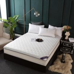 亿丁点 2019新款单边针织床垫 单边针织白