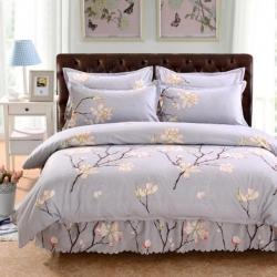 睡美美家纺 双边四件套 花儿盛放