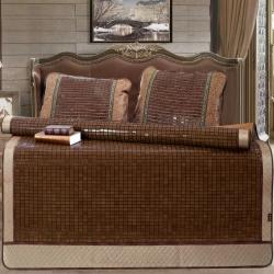 高档麻将席1.5/1.8带包装夏季凉席可折叠席子