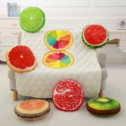 王牌家纺  水果抱枕被 空调被 靠垫被