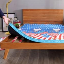 迪乐妮 法莱绒立体床垫(可定制)