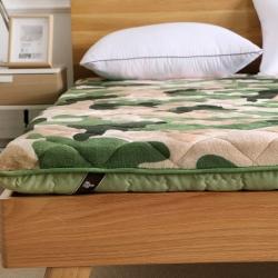 迪乐妮垫业 新款独家专版迷彩系列超级加厚榻榻米床垫迷彩