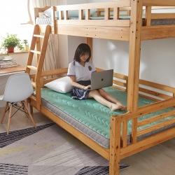(總)迪樂妮 單人床透氣記憶海綿學生床墊5-10厘米水綠
