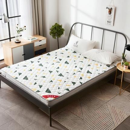 天依舍家纺 印花薄床垫 简单生活