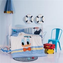 (总)小马达 幼儿园三件套系列水洗棉绣花三件套幼儿园儿童