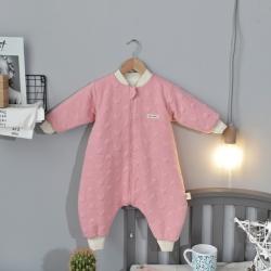 小馬達 兒童米奇空氣層分腿睡袋粉色幼兒園兒童