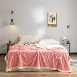 (總)蔓絲雅 2019新款雙層菠蘿毯