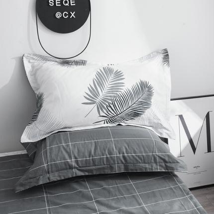(总)凯磊家纺 2019新款13070小清新单品枕套一对