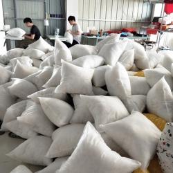 李帅家居 厂家直销加厚无纺布枕芯抱枕芯跑量枕头批发方枕芯靠垫