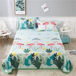 (總)茹沐 可水洗600d冰絲席床單款空調席涼席三件套