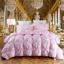 羽绒被    被芯  欧迪莱  羽绒枕  枕芯 粉色