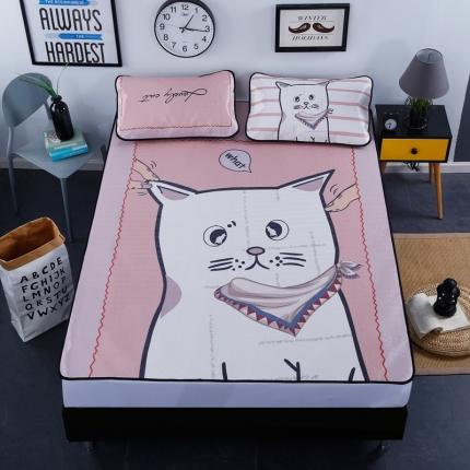 斐凡国际 数码大版冰丝席 小馋猫