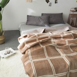 立奥 新品毛毯水晶绒夹棉复合毛毯法莱绒珊瑚绒
