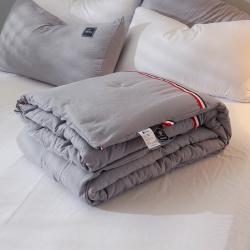 宅!暗系列 TB织带休闲冬被 单人床学生宿舍被褥双人春秋被子