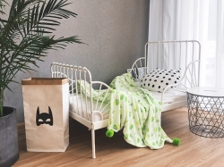 韩版西兰花绒毯毛毯盖毯法莱绒毯童毯婴儿盖毯韩国小可爱