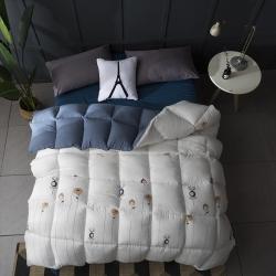 (总)立奥 新品北欧水洗棉冬被加厚被子保暖单人双人被芯