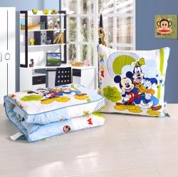 迪士尼正品全棉靠垫被办公室车内适用