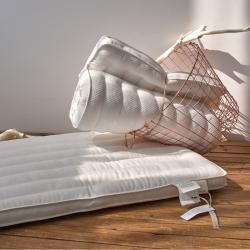 (总)良品汇馆 日式超低枕头 矮枕头全棉羽丝绒超柔枕芯矮枕芯