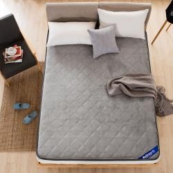 丽诺家纺-法兰绒压花床垫