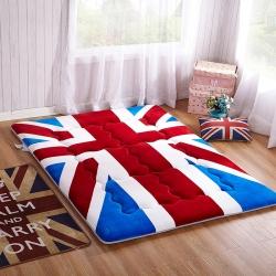 尚舒雅 法莱绒床垫床褥子单人双人垫被褥学生宿舍1.5 1.8
