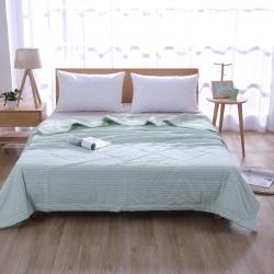 100%里外全棉水洗棉花夏被空调被纯棉夏凉被学生夏季单人双人