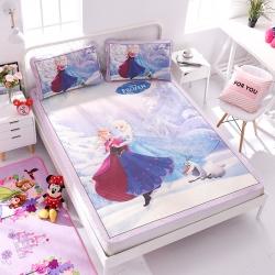 正版授权迪士尼Disney凉席冰丝席-冰雪旋律 曼丝