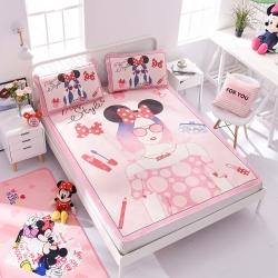正版授权迪士尼Disney凉席冰丝席-潮流时尚 曼丝