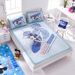 正版授权迪士尼Disney凉席冰丝席-冲浪米奇 曼丝