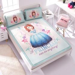 正版授权迪士尼Disney凉席冰丝席-海洋之星 曼丝
