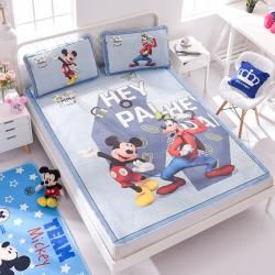正版授权迪士尼Disney凉席冰丝席-好伙伴 曼丝